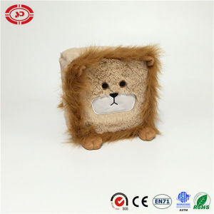 Fuzzy Colorful Plush Stuffed Cute Square Baby Soft Toy pictures & photos