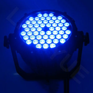 Whtie Color 54PCS 3W Waterproof LED PAR Can pictures & photos