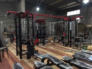 Eight Station Multi-Jungle, Fitness Gym Equipment pictures & photos