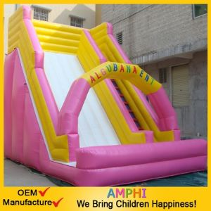 China Factory 0.55mm PVC Tarpaulin Commercial Inflatable Slide