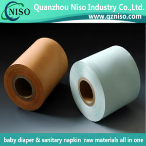 Unbreathable Printed High Quality Bag Film for Sanitary Napkin Raw Materials pictures & photos
