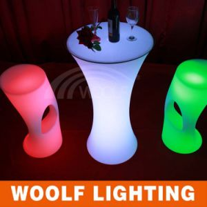 Modern Design Hot Sale LED Bar Stool LED Light up LED Bar Stool
