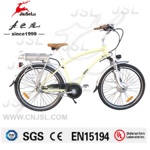 "250W Brushless Motor CE 26"" Al Aluminum Electric Bicycle (JSL038Y-5) pictures & photos"