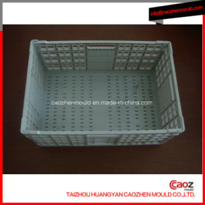 High Quality Plastic Injection Folding/Stackable Crate Mould