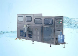 SGS Qgf-120 5 Gallon Pure Water Barreled Production Line