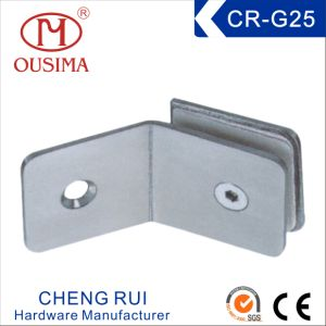 Square Shower Room Glass Fixing Clamp (CR-G25)