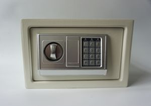 Mini Safe Box with Electronic Lock for Hotel and Home Use