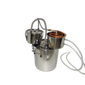 30L 8gal Home Spirits Brewery Alcohol Distillation Equipment