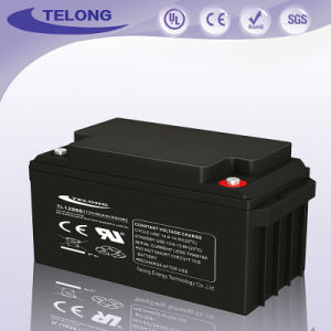 12V80ah Sealed Lead Acid Mf for The Solar Battery pictures & photos