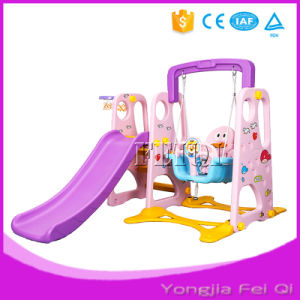 Indoor Mutifunction Playground Slide and Swing for Kid D Series