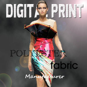 100% Polyester Fabric Chiffon Print pictures & photos
