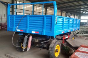 Three Way Dumping Agriculture Truck Trailer pictures & photos
