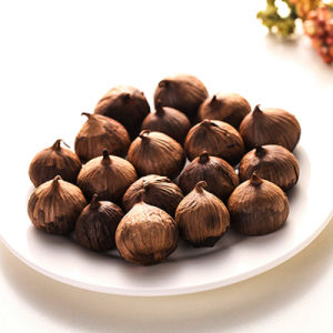 High Quality Single Clove Black Garlic Made of China 300g/Bag