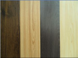 Click Joint Laminate Wooden Floors HDF