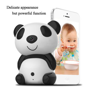 HD1280 X 720p Day/Night Wi-Fi Baby Moninitor Cute Panda Cloud IP Wireless 30ft Night Vision Video Monitoring Camera FM0004