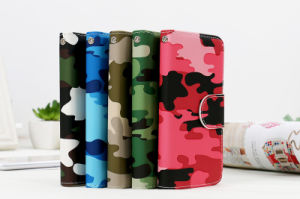 Camouflage Color Leather Case for iPhone 7