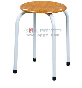 Competitive Price Good Quality School Chair Round Stool pictures & photos