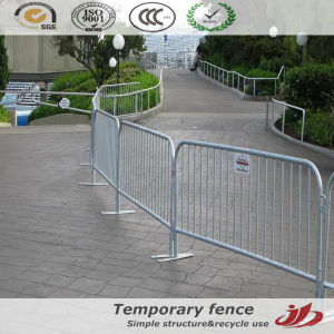 Temporary Crowd Control Fencing Recycle Using