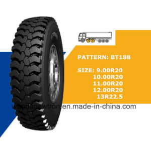 Radial Truck Tyre (9.00r20 10.00r20 11.00r20 12.00r20) , TBR for Construction