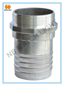 Male Bsp Al A356-T6 Aluminum French Guillemin Coupling pictures & photos