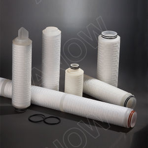 2017 New Products Hydrophobic PTFE Sterile Gas Cartridge Filters for Air Filtration