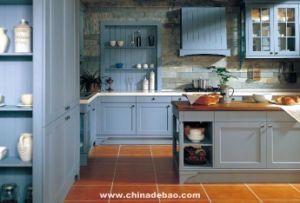 China Ash Wooden Kitchen Cabinet Ofb 700 China Kitchen Cabinet