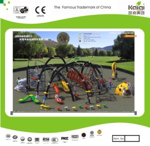 Kaiqi Children′s Climbing Obstacle Course and Adventure Playground Set (KQ35088A) pictures & photos