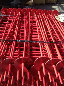 Power Coated Ground Anchor Screw Helix Anchor pictures & photos