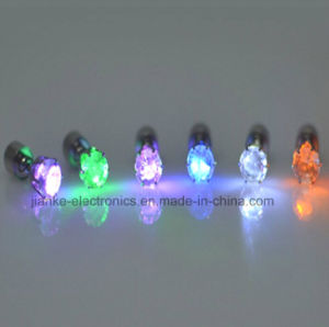 2015 Hot LED Beautiful Earrings with Laser Logo (4901)
