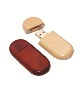 Custom Logo Wood USB Drive USB Wood Drive pictures & photos