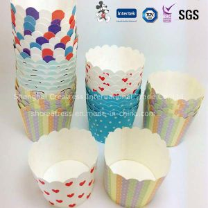 Disposable Cupcake Packaging Paper Cup pictures & photos
