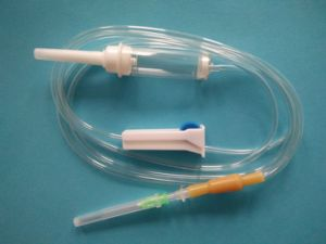 Disposable IV Set with Luer Slip Connector