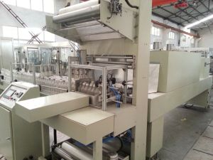 Semi Automatic Cans Shrink Wrapping Machine pictures & photos
