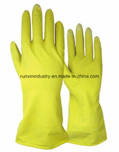Household Safety Latex Gloves 6001 pictures & photos
