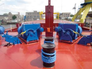 70kn (7 Tons) Marine Horizontal Electric Mooring Rope Capstan