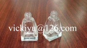 10ml Small Pyramid-Shaped Glass Bottles for Nail Oil, Cosmetics