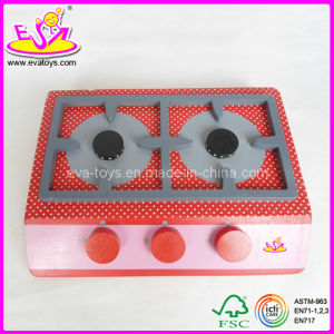 Wooden Play Gas Stove (W10C002) pictures & photos