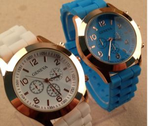 Fashion Unisex Japan Quartz Chronograph Analog Wrist Band Watch (XM9011)