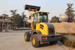 Ce Certificated Articulated 1.6 Ton Compact Loader Hongyuan Brand pictures & photos