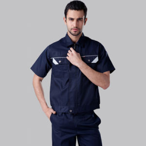 OEM 100% Workwear Uniforms Work Clothes with Short Sleeves pictures & photos