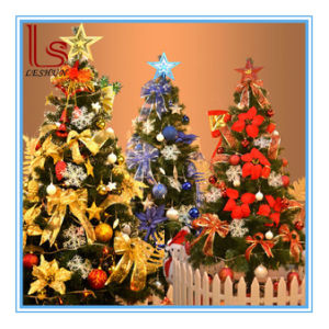 wholesale large luxury encryption packages 21 meter 210cm green christmas tree with various decorations and led - Wholesale Large Christmas Decorations