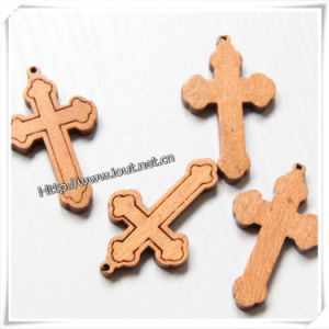 Religious Wood Cross, Wall Cross, Cross with Jesus (IO-cw003) pictures & photos