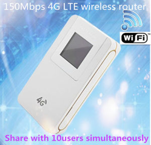 Hotspot Mini Pocket WiFi Router 4G Lte Wireless Router Portable WiFi Router  Car WiFi Router 150Mbps SIM Card Slot Router Share with More Than 10uers