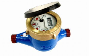 LXS-15F3 MJ Liquid Sealed Vane Wheel Water Meter Class C