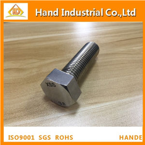 Stainless Steel ASME A193 B8 B8m M12X60 Hex Head Bolt pictures & photos