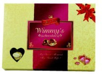 12 Pieces Paper Gift Box Chocolate (G12G)