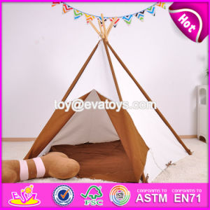Portable Children House Play Tents for Kids Natural Cotton Indoor Play Tents for Kids W08L006 pictures & photos