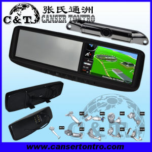 "4.3"" Car Rear View Mirror GPS LCD Monitor With Camera Kit (RVGSCDD)"