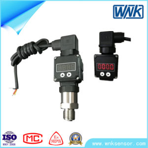 4-20mA Stainless Steel Pressure Transmitter with Oil Filled Pressure Sensor pictures & photos