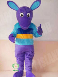 2011 Purple Kangaroo Advertising Mascot Costume (HI-MC-0377)